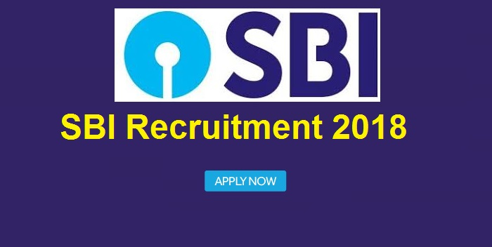 SBI Recruitment Specialist Cadre Officers 2018