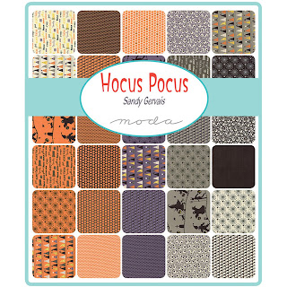 Moda Hocus Pocus Fabric by Sandy Gervais for Moda Fabrics