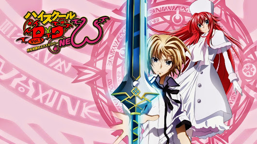 High School DXD NEW Vol.3 Blu-Ray