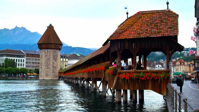 Kappelbrücke Lucerna