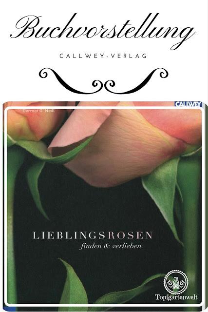 Buchvorstellung: Lieblingsrosen, finden und verlieben - die besten Rosen für den Garten im Portrait #gartenbuch #rosenbuch #rose #lieblingsrosen #rosenportraits #buchvorstellung - Gartenblog Topfgartenwelt