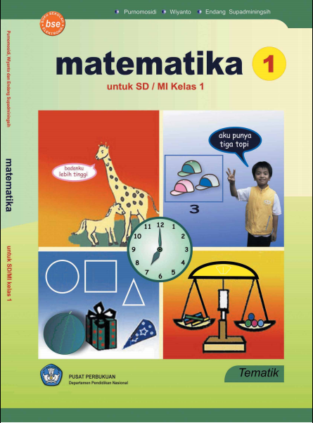 Matematika Untuk SD atau MI Kelas 1