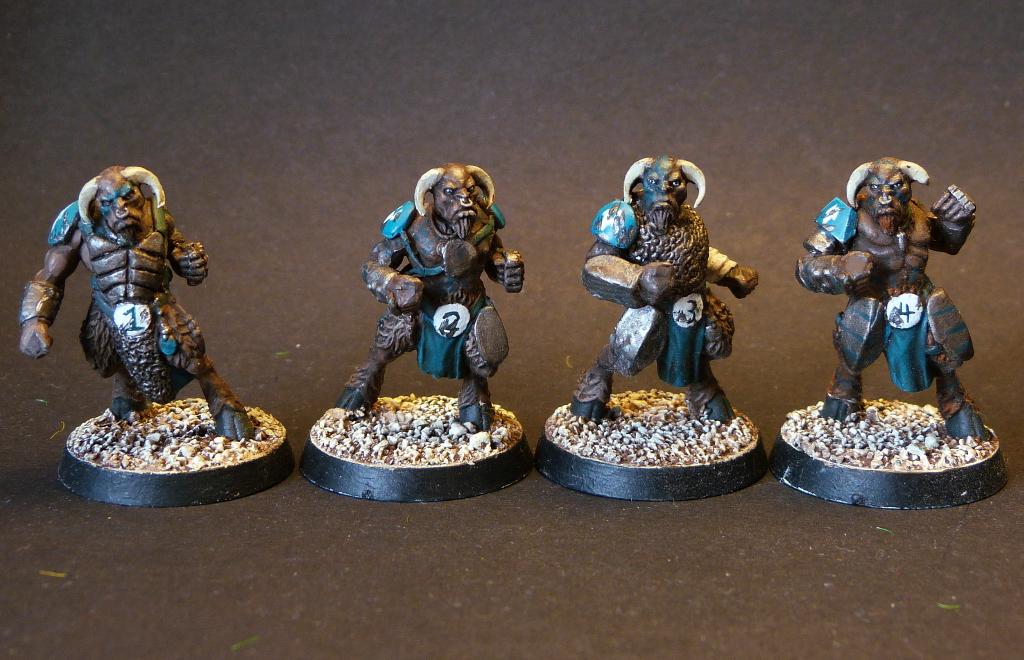 Beastmen Chaos Blood Bowl Team Wargaming Hub