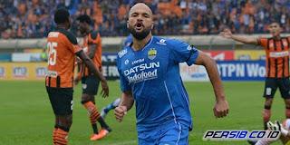 Persib Bandung Lumat Perseru Serui 6-2