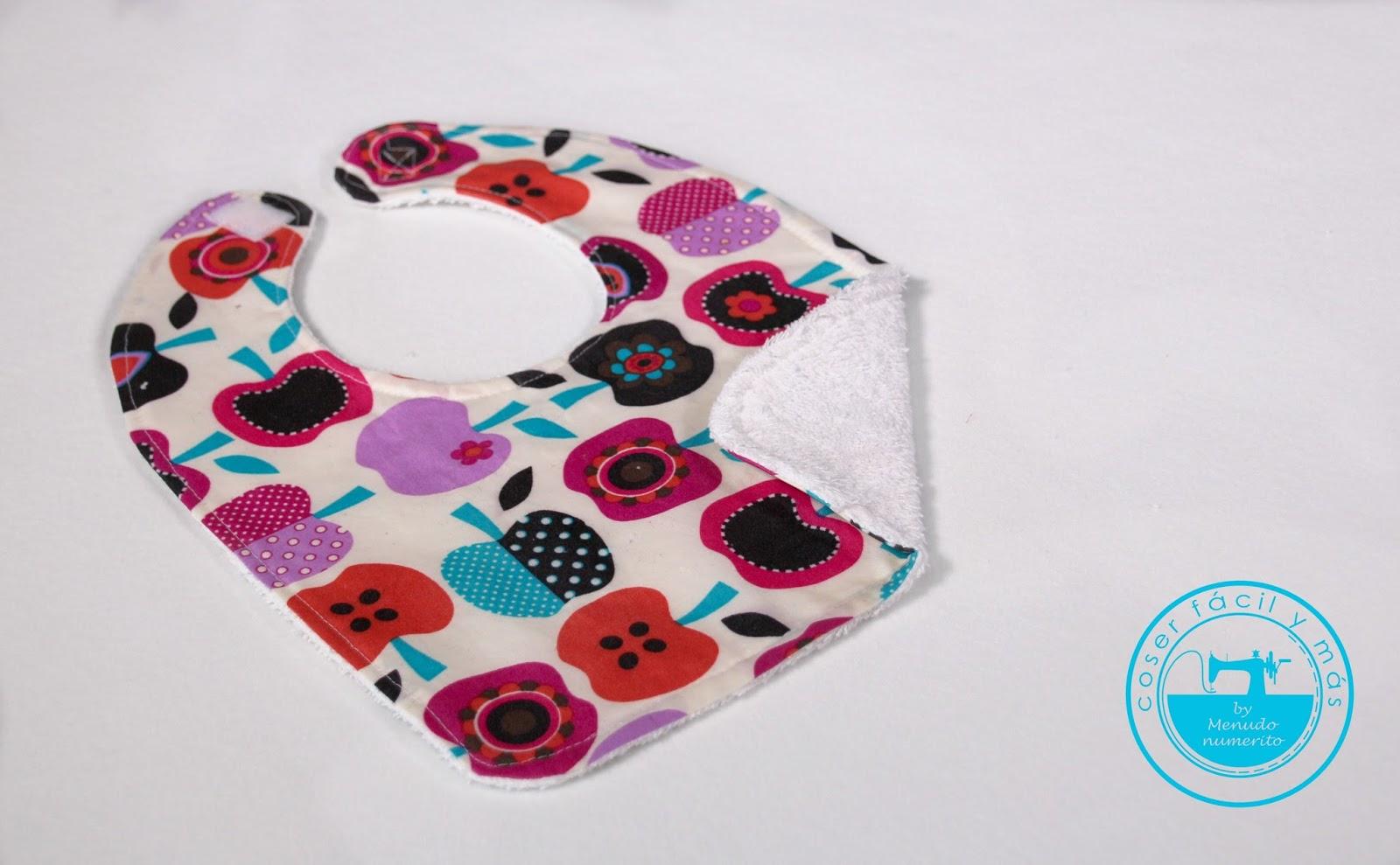 Cómo coser un babero impermeable (con patrón) - El blog de Coser ...