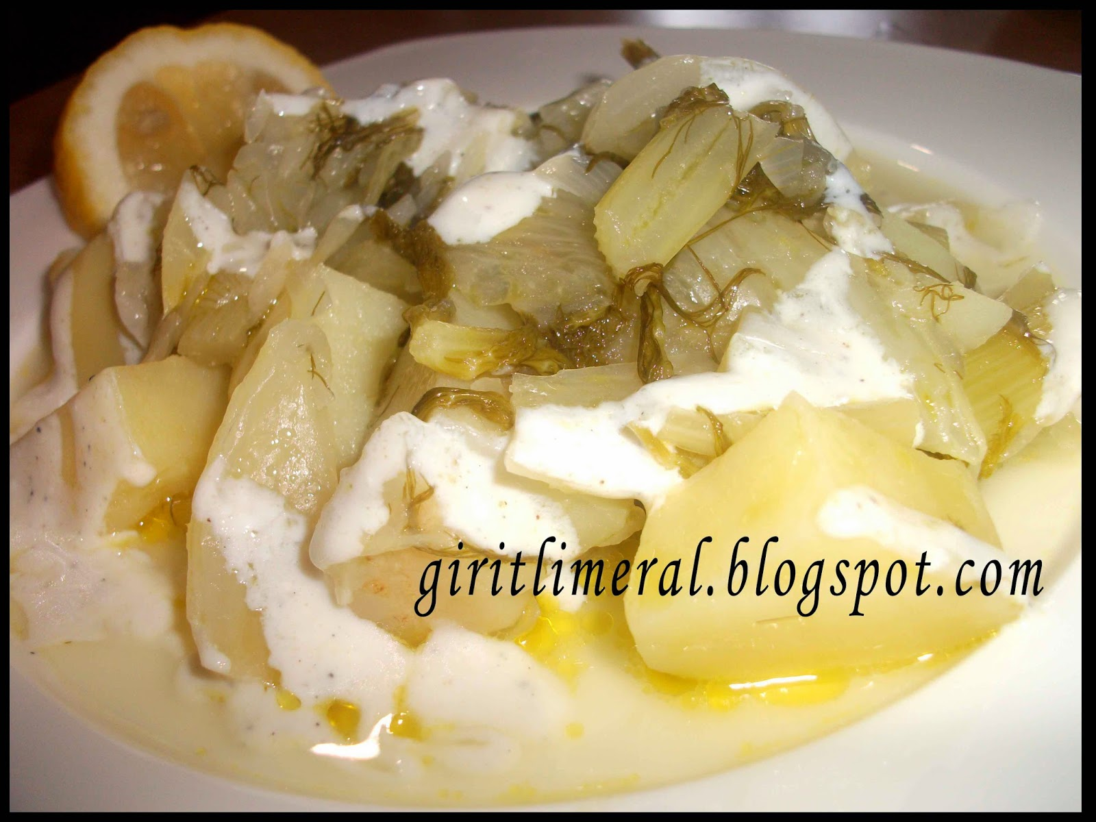 Patates ve rezene güveç tarifi