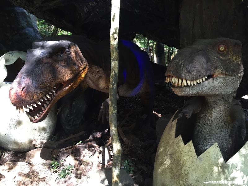 parque dinossauros em canela