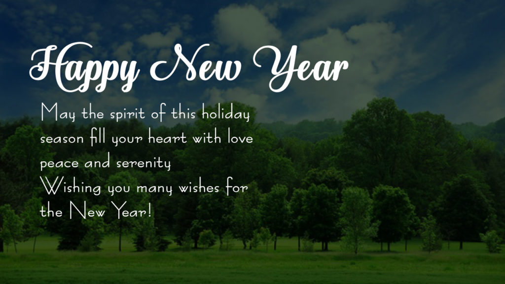 new year greetings 2017
