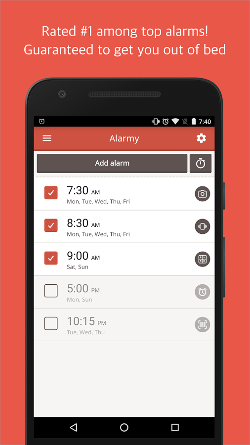 6 Alarm Apps For Heavy Sleepers Free Software Download