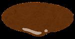 ハンバーガーの具材のイラスト(ソース)