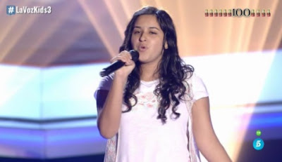 Julia: How Does A Moment Last Forever |  Audiciones a ciegas La Voz Kids