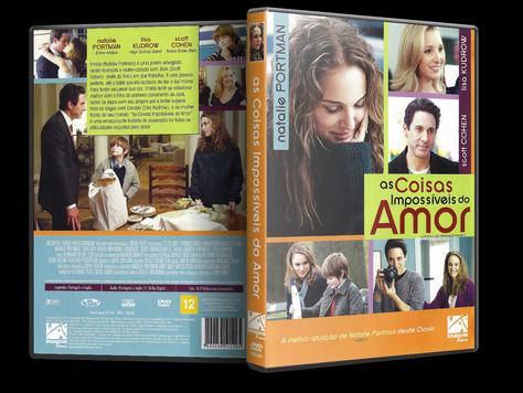 Capa DVD As Coisas Impossíveis do Amor