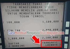 cara transfer uang lewat atm bca beserta gambar