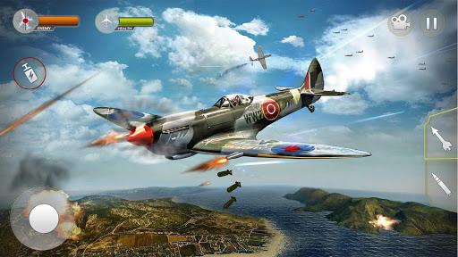 تحميل لعبة Airplane Fighting WW2 Survival Air v1.3 مهكرة وكاملة للاندرويد أموال لا تنتهي
