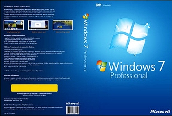 ويندوز سيفين بروفشنال windows 7 professional