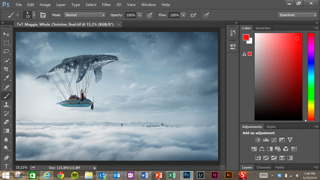 تحميل adobe photoshop touch