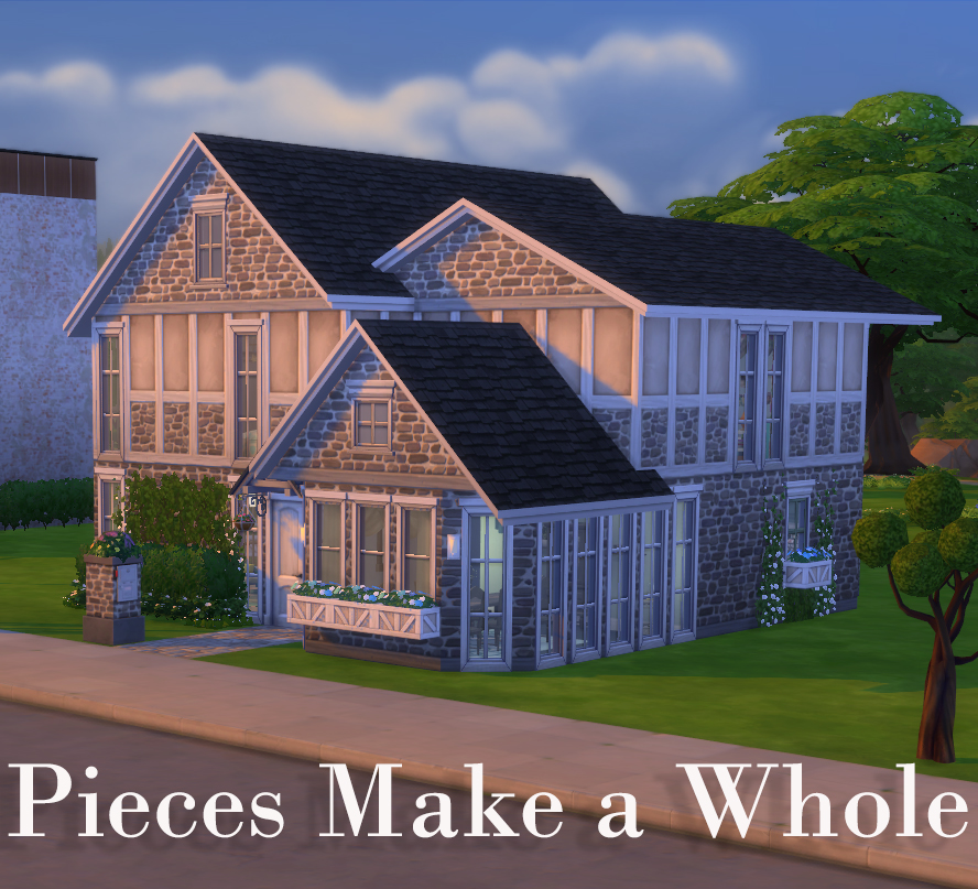 Athsndwords Sims 4 Designs: Pieces Make A Whole