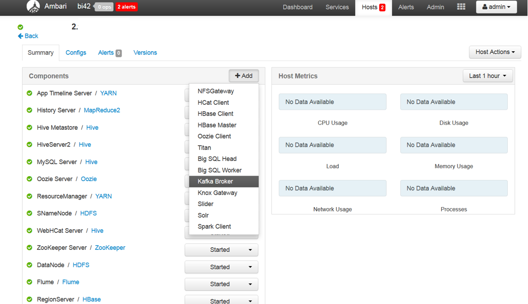 Configuring and Running Apache Kafka in IBM BigInsights