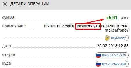 Raymoney - клики по рекламе