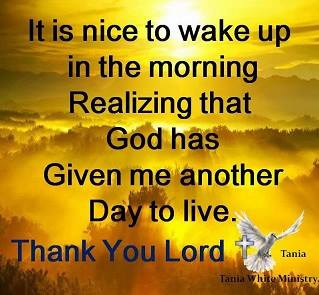 Thank You Lord For Another Day Quotes Cenksms