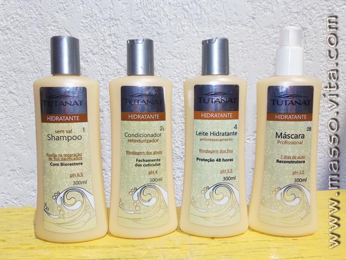 Linha Tratamento Hidratante para os cabelos