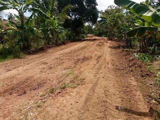 Jalan Rusak di Kecamatan Rantau Panjang Mulai diperbaiki
