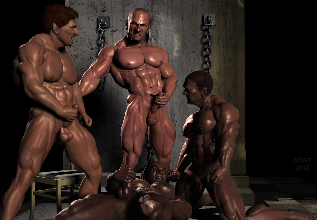 Gauge and muscle and gay