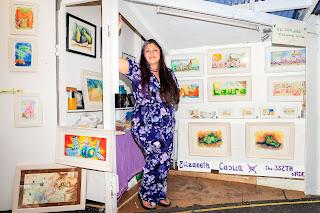 Elizabeth Casua in tHE 33ZTH oRDER shop in Blackrock Market. Photografy by  Robert Kelly
