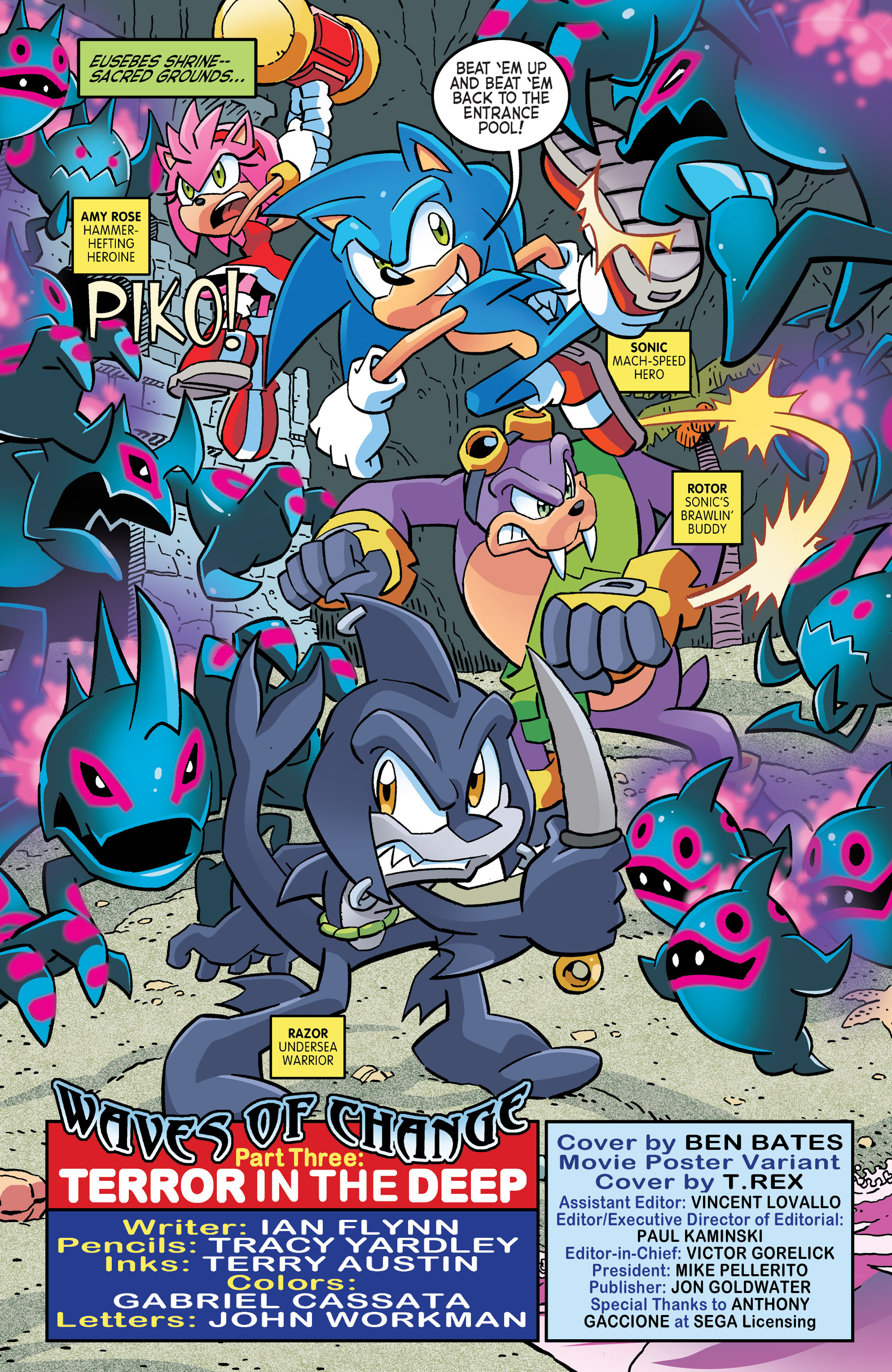 Read online Sonic The Hedgehog comic -  Issue #262 - 3