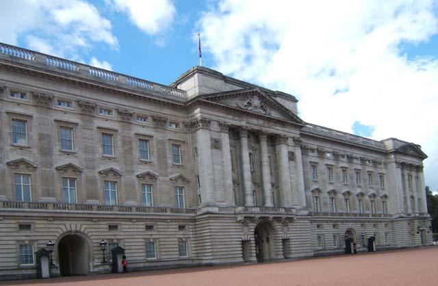El Palacio de Buckingham, residencia de la Reina Isabel II