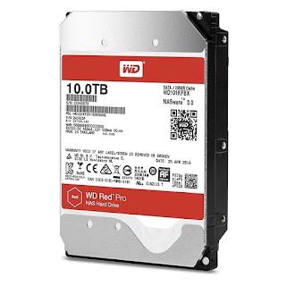 WD Red Pro Plex Server NAS Hard Drive