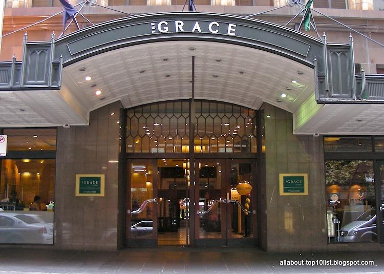 The Amazing World Of Top10 The Grace Hotel Sydney Australia