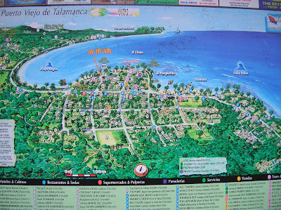 Mapa de Puerto Viejo de Talamanca, Costa Rica, vuelta al mundo, round the world, La vuelta al mundo de Asun y Ricardo, mundoporlibre.com