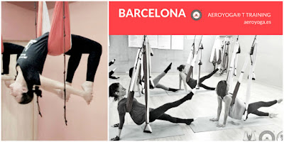 AEROYOGA TEACHER TRAINING, UN METODO DE RAFAEL MARTINEZ, CURSOS EN BARCELONA, CATALUNYA