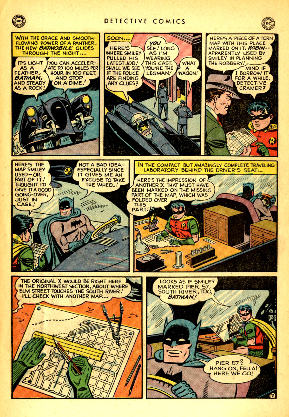 Read online Detective Comics (1937) comic -  Issue #156 - 9