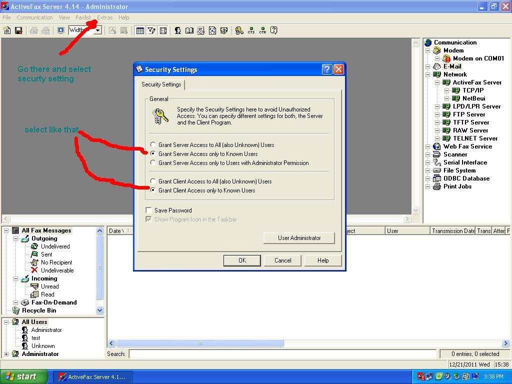 ActiveFax Server v4 20