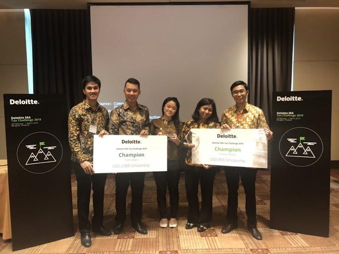 Mahasiswa FEB UI Juara 1 Kompetisi Pajak Asia Tenggara