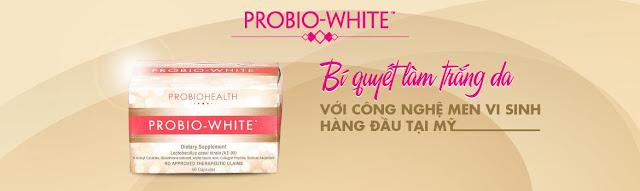 Thuốc uống làm đẹp da Probio White