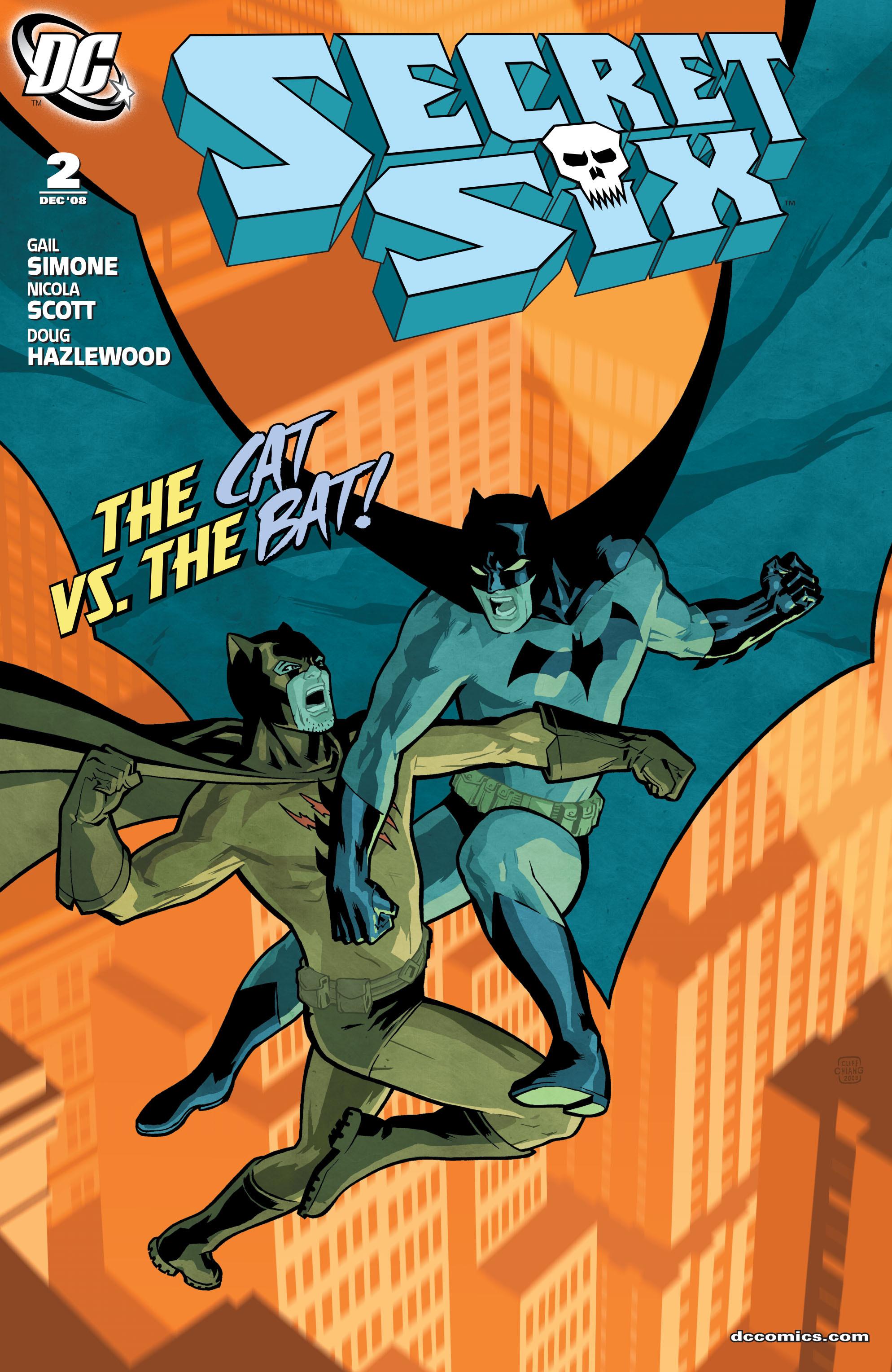 Read online Secret Six (2008) comic -  Issue #2 - 1