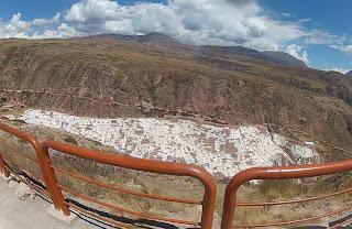 Salineras de Maras / Peru, vista do alto.