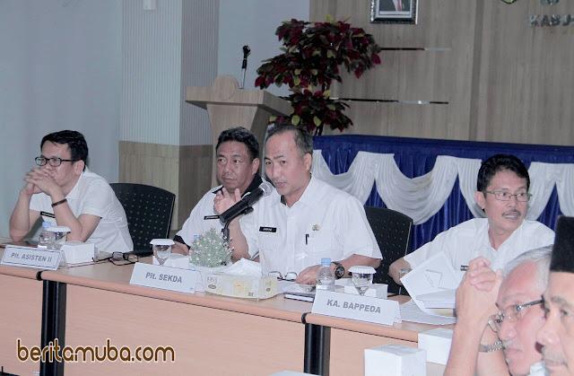 Plt Sekda Muba Buka Rapat Koordinasi Pelaksanaan DAK
