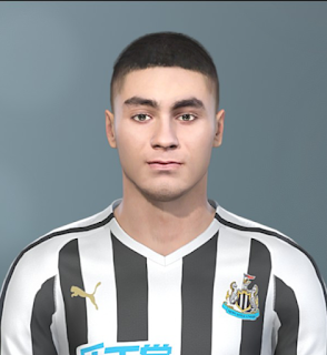PES 2019 Faces Miguel Almirón by Sofyan Andri