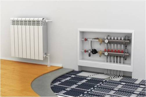 hydronic heating radiators