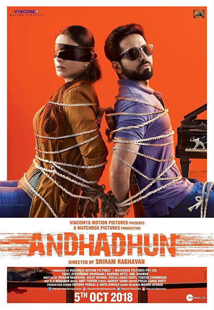 Andhadhun (2018) บทเพลงในโลกมืด (ซับไทย)