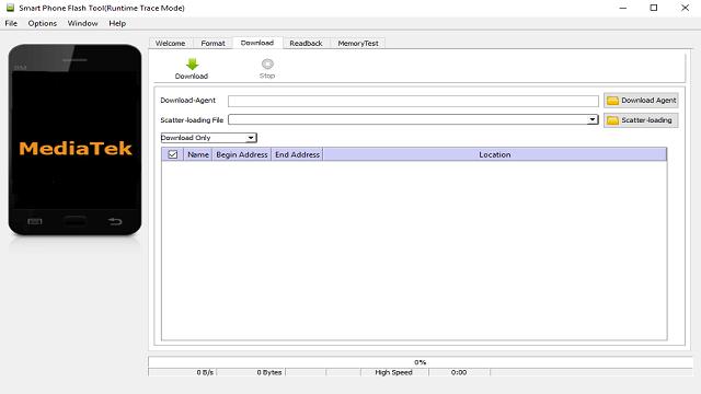 Descargar SP Flash Tool v5.1343