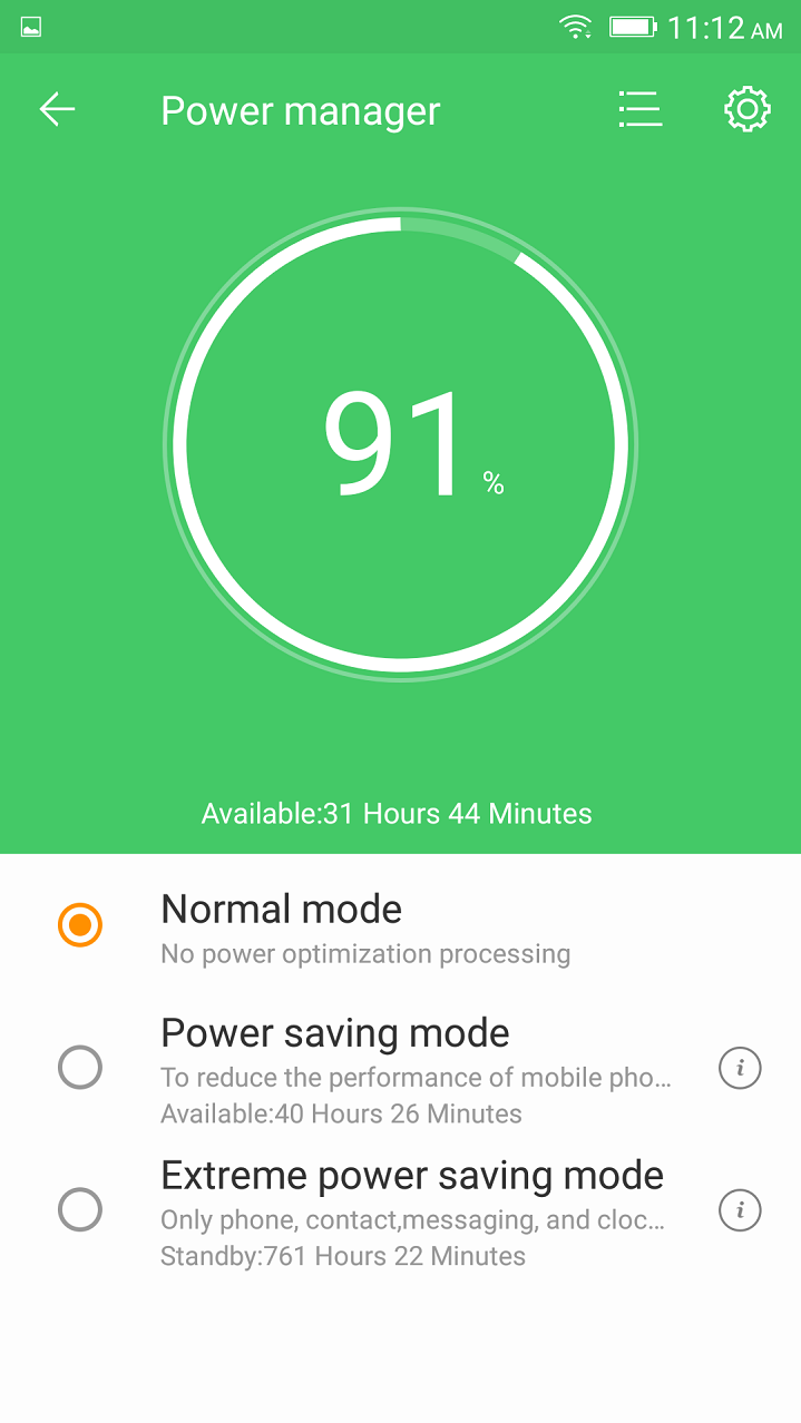 Primo X4 Pro Battery Saver