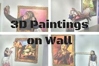 3D Paintings on Wall