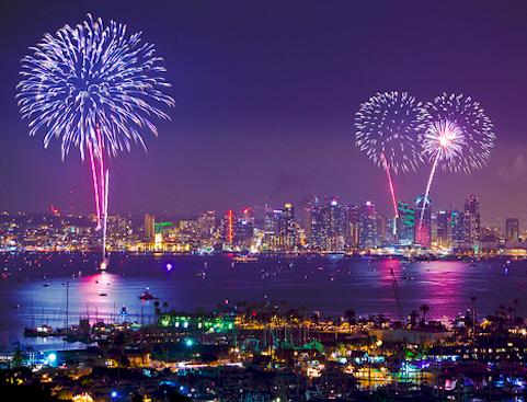 San Go Fourth Of July Fireworks