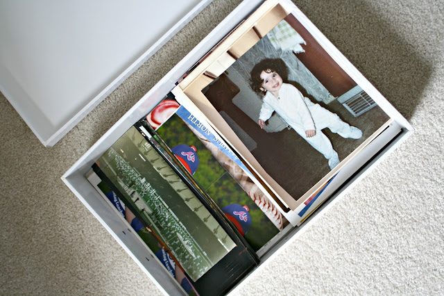 Large box for large printed photos