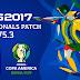 PES 2017 Professionals Patch update 2020 V5.3 التحديث الثالت باتش بروفيشونال بيس 2017 كأس افريقيا و كوبا امريكا 2019